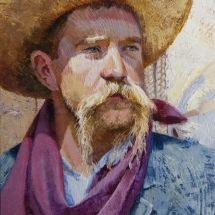 Jennifer Hunter oil painting American Plains Artists Signature Member